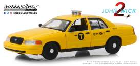 Ford  - Crown Victoria 2008 yellow - 1:43 - GreenLight - 86561 - gl86561 | Tom's Modelauto's