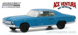 Chevrolet  - Monte Carlo 1972 blue - 1:43 - GreenLight - 86564 - gl86564 | Toms Modelautos