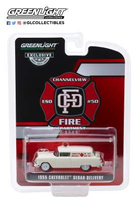 Chevrolet  - Sedan Delivery 1955  - 1:64 - GreenLight - 30071 - gl30071 | Toms Modelautos