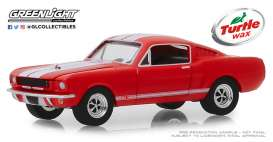 Shelby  - GT350 1965 red - 1:64 - GreenLight - 30072 - gl30072 | Tom's Modelauto's