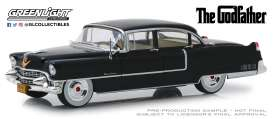 Cadillac  - Fleetwood 1955 black - 1:24 - GreenLight - 84091 - gl84091 | Tom's Modelauto's