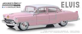 Cadillac  - Fleetwood 1955 pink - 1:24 - GreenLight - 84092 - gl84092 | Tom's Modelauto's