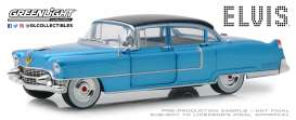 Cadillac  - Fleetwood 1955 blue - 1:24 - GreenLight - 84093 - gl84093 | Tom's Modelauto's