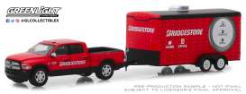 Ram  - 2500 Big Horn 2017 red/black - 1:64 - GreenLight - 32170C - gl32170C | Tom's Modelauto's