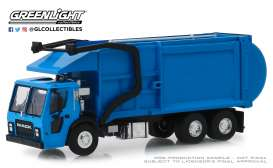 Mack  - LR Refuse 2019 blue - 1:64 - GreenLight - 45070C - gl45070C | Tom's Modelauto's
