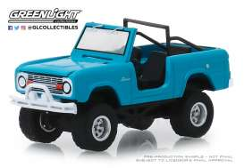Ford  - Bronco 1967 teal - 1:64 - GreenLight - 35130A - gl35130A | Tom's Modelauto's