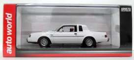 Buick  - Grand National  1986 white - 1:43 - Auto World - awr1137 - AWR1137 | Tom's Modelauto's