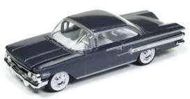 Chevrolet  - Impala 1960 grey - 1:64 - Racing Champions - RC008 - RC008-2 | Tom's Modelauto's