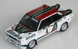Fiat  - 131 Abarth Rally 1979 white/red/green - 1:18 - IXO Models - rmc028A - ixrmc028A | Tom's Modelauto's