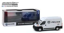 Ram  - Promaster 2018 white - 1:43 - GreenLight - 86168 - gl86168 | Tom's Modelauto's