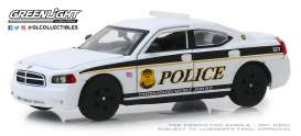 Dodge  - Charger 2006 white/black - 1:43 - GreenLight - 86171 - gl86171 | Tom's Modelauto's
