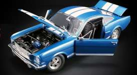Shelby  - GT350 Supercharged 1966 blue/white - 1:18 - Acme Diecast - 1801834 - acme1801834 | Toms Modelautos