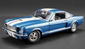Shelby  - GT350 Supercharged 1966 blue/white - 1:18 - Acme Diecast - 1801834 - acme1801834 | Tom's Modelauto's