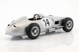 Mercedes Benz  - W196 1955 silver - 1:18 - iScale - 118000000014 - iscale118014 | Tom's Modelauto's