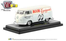 Volkswagen  - Delivery Van 1960 light grey/blue - 1:24 - M2 Machines - 40300moon02B - M2-40300moon02B | Tom's Modelauto's