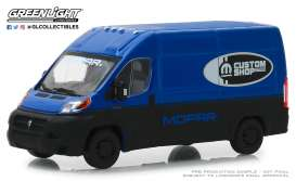 Ram  - ProMaster 2018 blue - 1:43 - GreenLight - 86155 - gl86155 | Tom's Modelauto's