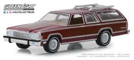 Mercury  - Grand Marquis 1985 burgundy - 1:64 - GreenLight - 29950F - gl29950F | Tom's Modelauto's