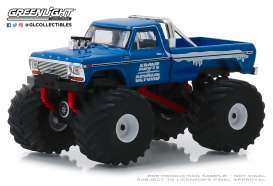 Ford  - F-250 Monster Truck blue/red - 1:64 - GreenLight - 49040C - gl49040C | Tom's Modelauto's