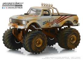 Chevrolet  - K-10 white/sand - 1:64 - GreenLight - 49040D - gl49040D | Tom's Modelauto's