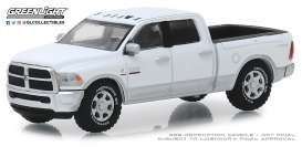 Ram  - 2500 Big Horn 2018 white/silver - 1:64 - GreenLight - 30048 - gl30048 | Tom's Modelauto's