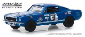 Shelby  - GT350 1965 blue - 1:64 - GreenLight - 13240B - gl13240B | Tom's Modelauto's
