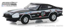 Datsun  - 260Z 1974 black/white - 1:64 - GreenLight - 13240E - gl13240E | Tom's Modelauto's
