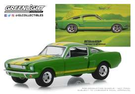 Shelby  - GT350 1966 green - 1:64 - GreenLight - 30060 - gl30060 | Tom's Modelauto's