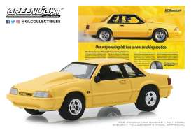 Ford  - Mustang 1988 yellow - 1:64 - GreenLight - 30062 - gl30062 | Tom's Modelauto's