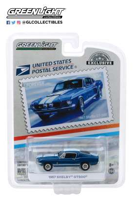 Shelby  - GT500 1967  - 1:64 - GreenLight - 30067 - gl30067 | Tom's Modelauto's