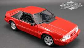 Ford  - Mustang Cobra 1993 red - 1:18 - GMP - GMP18922 - gmp18922 | Tom's Modelauto's