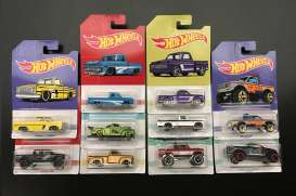 Assortment/ Mix  - various - 1:64 - Hotwheels - GBC09-939A - hwmvGBC09-939A | Toms Modelautos