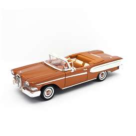 Ford  - Edsel Citation 1958 brown - 1:18 - Lucky Diecast - 92298 - ldc92298bn | Tom's Modelauto's