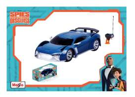 Audi  - E-Tron *Spies in Disguise* 2018 blue - 1:24 - Maisto - 81508 - mai81508b | Tom's Modelauto's