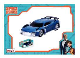 Audi  - E-Tron *Spies in Disguise* 2018 blue - 1:34 - Maisto - 81508 - mai21228 | Tom's Modelauto's