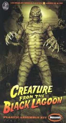 Creature From the Black Lagoon Figures - 1:8 - Moebius - 971 - moes971 | Tom's Modelauto's