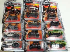 Assortment/ Mix  - Jurassic World 2 2018 various - 1:64 - Matchbox - FMW90-965H - MatFMW90-965H | Tom's Modelauto's