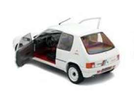 Peugeot  - 205 Rally white - 1:18 - Solido - 1801701 - soli1801701 | Toms Modelautos