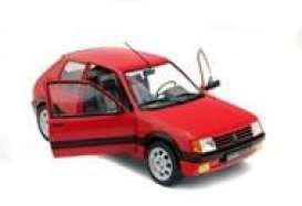 Peugeot  - 205 GTI red - 1:18 - Solido - 1801702 - soli1801702 | Toms Modelautos