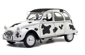 Citroen  - 2CV6 1985 white/black - 1:18 - Solido - 1850028 - soli1850028 | Tom's Modelauto's