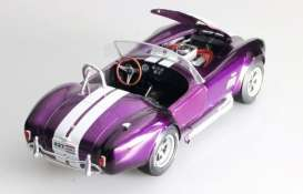 Cobra  - 427 1965 purple - 1:18 - Solido - 1850003 - soli1850003 | Tom's Modelauto's
