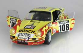 Porsche  - 911 RSR 1973 yellow/red - 1:18 - Solido - 1801109 - soli1801109 | Tom's Modelauto's