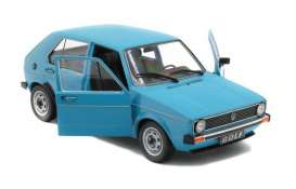 Volkswagen  - Golf 1983 blue - 1:18 - Solido - 1800208 - soli1800208 | Tom's Modelauto's