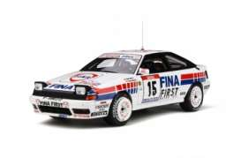 Toyota  - Celica 1991 white/red/blue - 1:18 - OttOmobile Miniatures - 727 - otto727 | Tom's Modelauto's