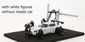 diorama Figures - white - 1:43 - IXO Models - FIG004set - ixFIG004set | Tom's Modelauto's