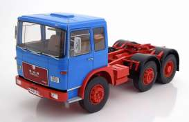 MAN  - 16304 F7 1972 blue/red - 1:18 - Road Kings - 180051 - rk180051 | Tom's Modelauto's