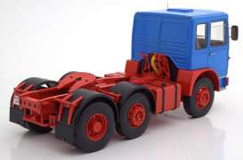 MAN  - 16304 F7 1972 blue/red - 1:18 - Road Kings - 180051 - rk180051 | Toms Modelautos