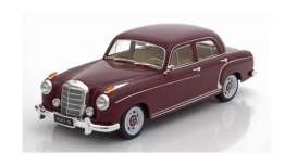 Mercedes Benz  - 220S Limousine 1954 dark red - 1:18 - KK - Scale - 180322 - kkdc180322 | Tom's Modelauto's