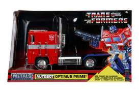 Transformers  - Optimus Prime red - 1:24 - Jada Toys - 99524 - jada99524 | Tom's Modelauto's