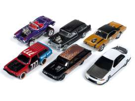 Assortment/ Mix  - various - 1:64 - Johnny Lightning - SF013A - JLSF013A | Tom's Modelauto's