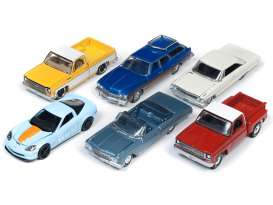 Assortment/ Mix  - various - 1:64 - Auto World - 64222A - AW64222A | Tom's Modelauto's